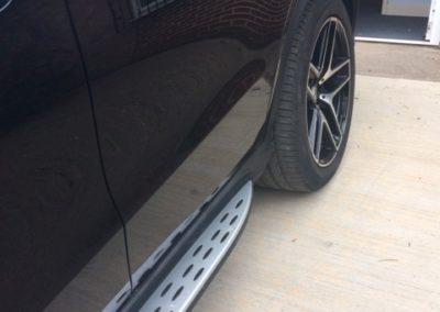 M Benz Rear door repaired