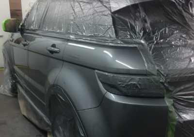 range rover painted