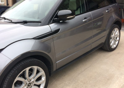 range rover repaired