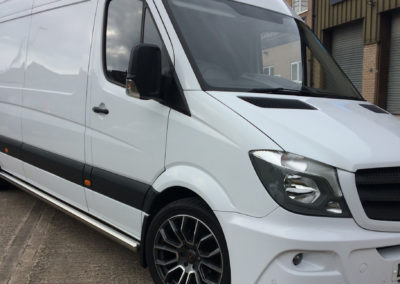 merc sprinter fitted